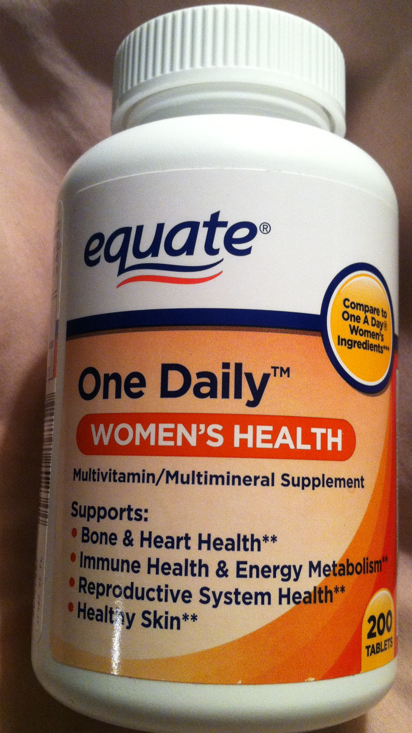 Daily multivitamin for women